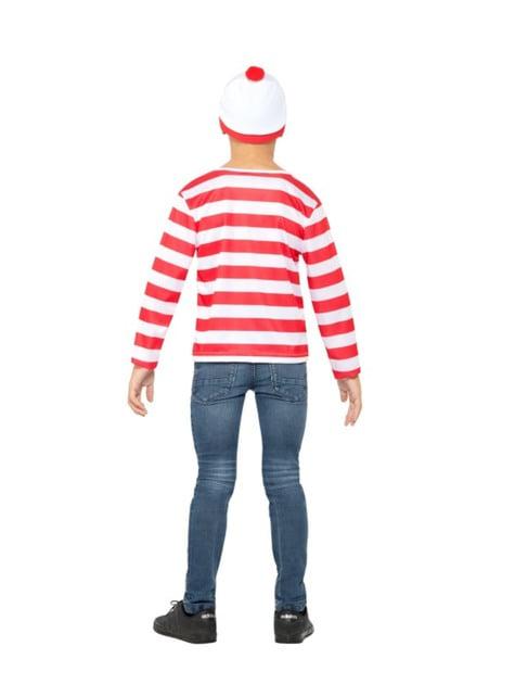 Disfraz de Dónde está Wally classic para niño - original