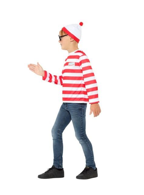Disfraz de Dónde está Wally classic para niño - traje