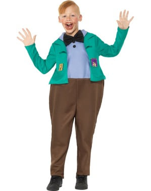 Augustus Gloop costume for boys - Roald Dahl