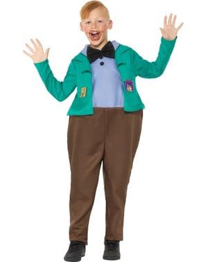 Costume di Augustus Gloop per bambino - Roald Dahl