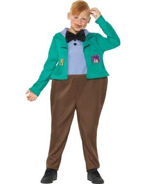 Fato de Augustus Gloop para menino - Roald Dahl