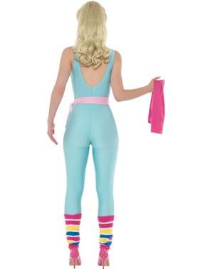 Sportief barbie kostuum voor vrouw