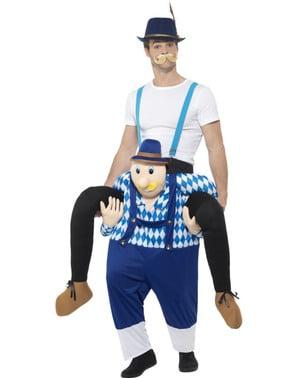 Disfraz a hombros de bávaro oktoberfest