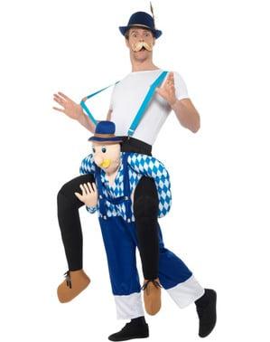 Bavarisk oktoberfest ridder kostume til voksne