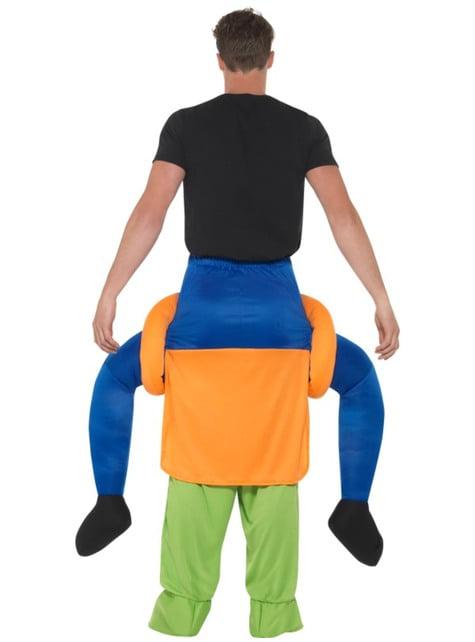 Disfraz a hombros de calabaza maligna para adulto - adulto