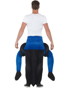 Disfraz a hombros de bruja verde