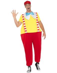Tweedle Dee Dum kostyme til voksne