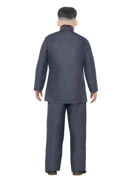 Disfraz de presidente coreano gris para hombre - original