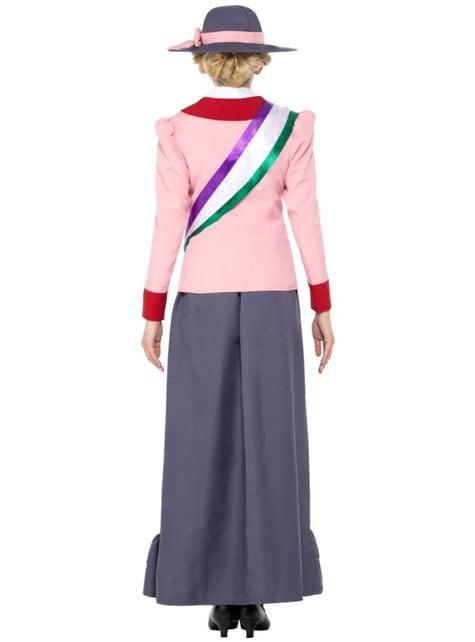Suffragist costume for women