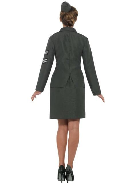 Disfraz de soldado de la Segunda Guerra Mundial para mujer - mujer