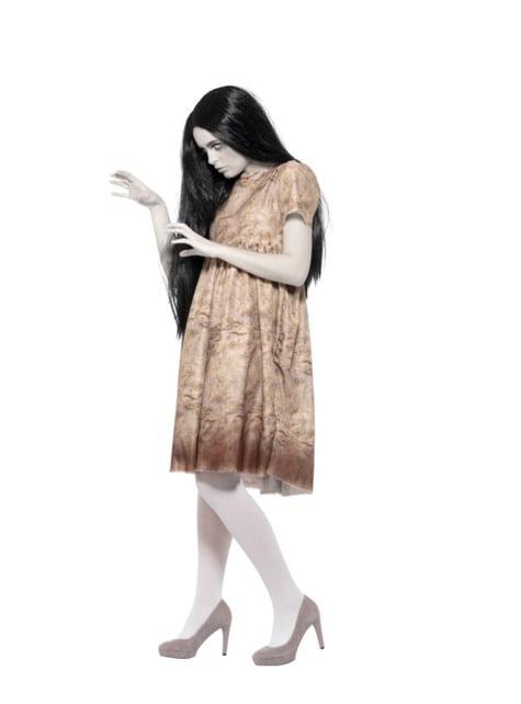 Fato de espírito maligno cinzento para mulher