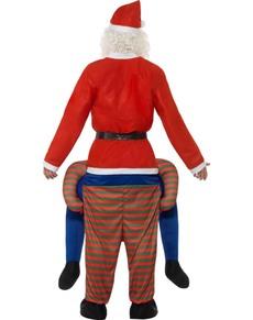 d4c05004e3d0 ... Grøn jule nisse ridder kostume til voksne