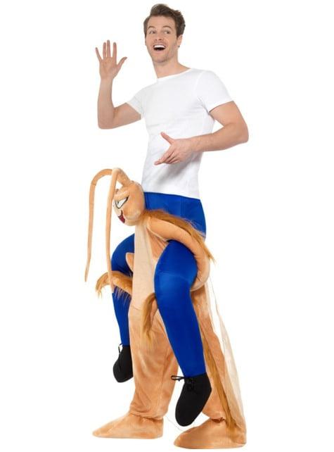 Disfraz de cucaracha ride on para adulto