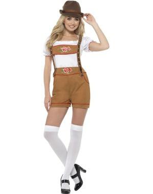 Costume da tirolese sexy oktoberfest per donna