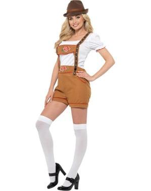 Costum de tiroleză sexy oktoberfest pentru femeie