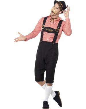 Happy Tirolsk Oktoberfest kostyme til menn