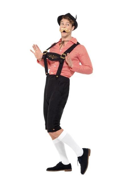 Disfraz de tirolés feliz oktoberfest para hombre - traje