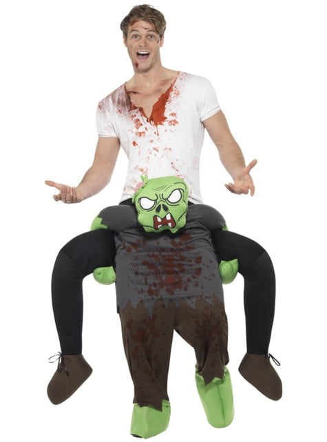 Disfraz de zombie ride on para adulto