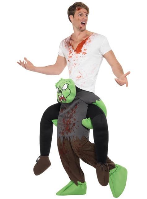 Fato de zombie ride on para adulto
