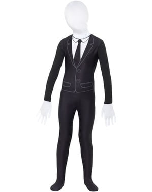 Slendermann second skin kostyme til barn