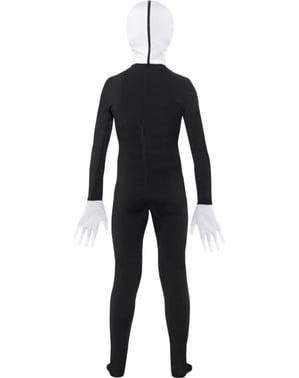 Slenderman second skin kostume til børn