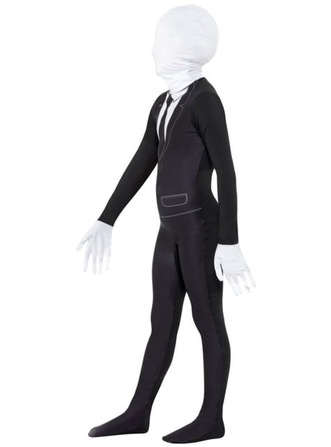 Kostium Slendermana dla dzieci (strój druga skóra)