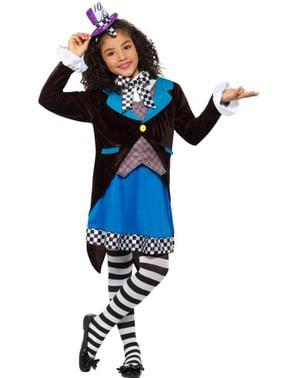 Costum de pălărier nebun pentru fată