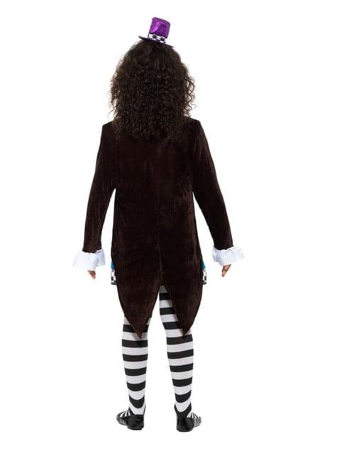 Verückte Hutmacherin Kostüm für Mädchen