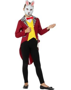 Mr. Weißer Hase Kostüm für Jungen