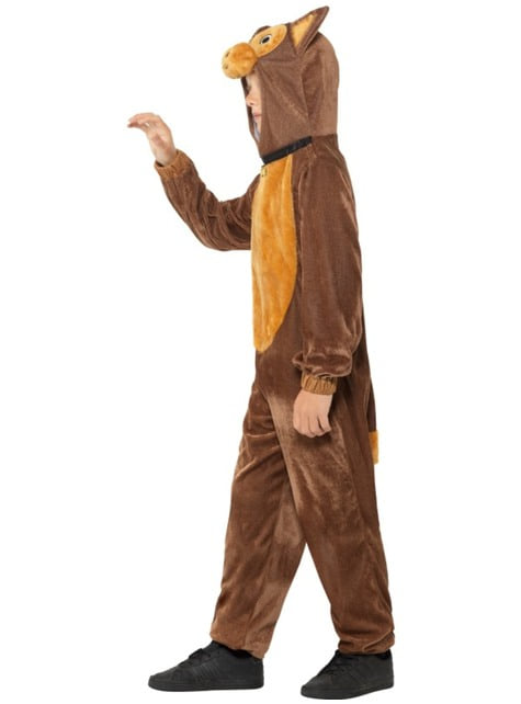 Brown puppy costume for kids