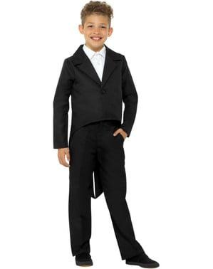 Maskeraddräkt Frack elegant för barn