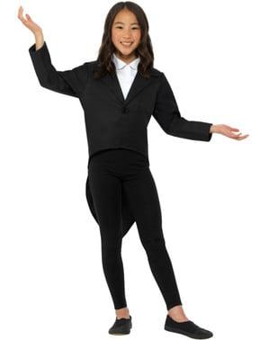 Elegant tailcoat costume for kids