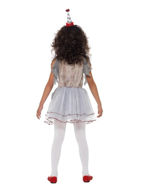 Vintage little clown costume for girls