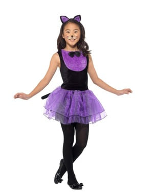 Tylskørt killing kostume til piger