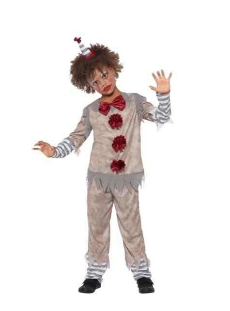 Vintage lille klovne kostume til drenge
