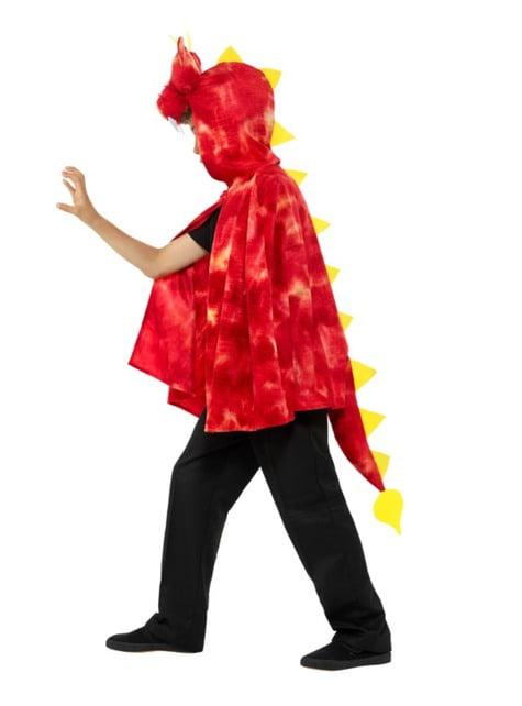 Capa de dragón rojo para infantil - barato
