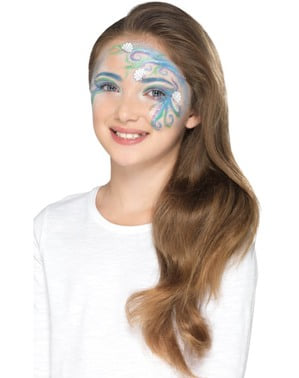 Kit de maquilhagem azul infantil