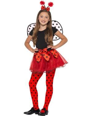 Ladybug kostuum set voor meisjes