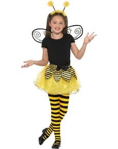 Kit disfraz de abeja para niña