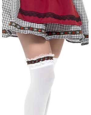 Oktoberfest Tyrolean garter untuk wanita