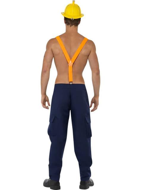 Kostým pre dospelých Rozpálený hasič