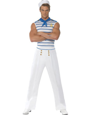 Men's Fever French Sailor Costume