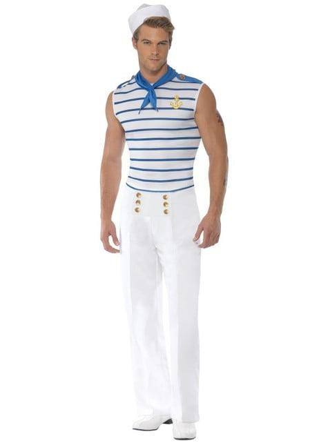 Disfraz de marinero francés Fever para hombre - hombre