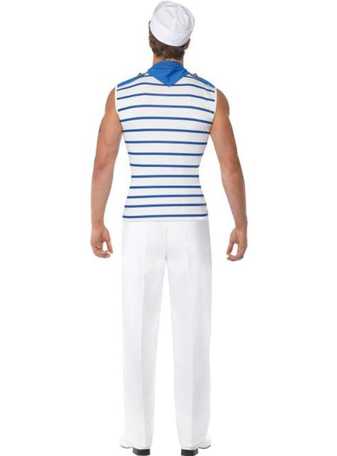 Disfraz de marinero francés Fever para hombre - original
