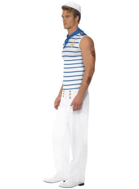 Disfraz de marinero francés Fever para hombre - traje