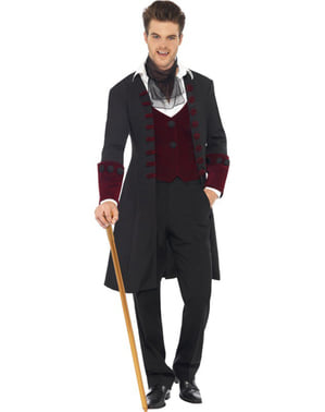 Demam gothic vampire Man Adult Kostum