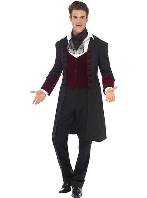 Costume da vampiro gotico per un uomo