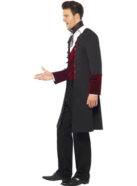 Gothic vampier kostuum voor mannen