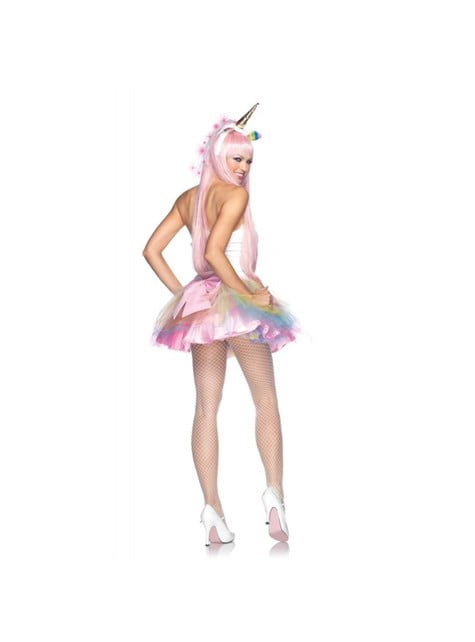 Costum de unicorn fantasy deluxe pentru femeie