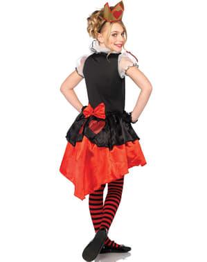 Costum regina de inimi pentru adolescenți